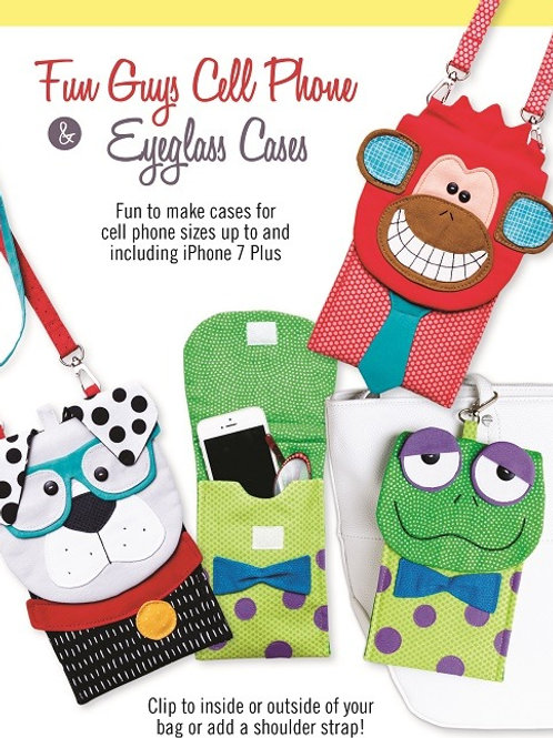 CG177 Fun Guys Cell Phone & Eyeglass Cases