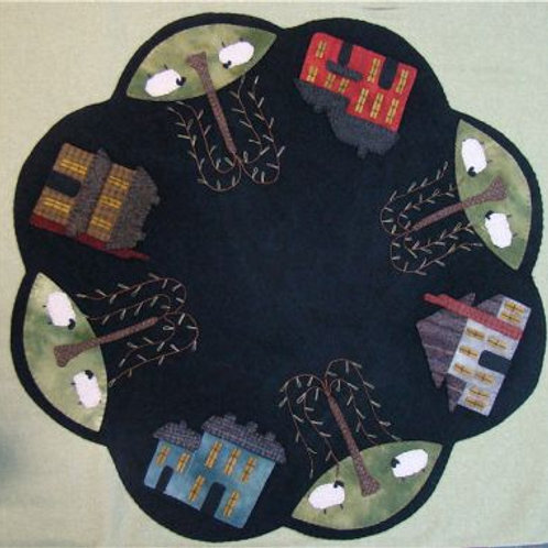 PRI 187 Saltbox Table Mat