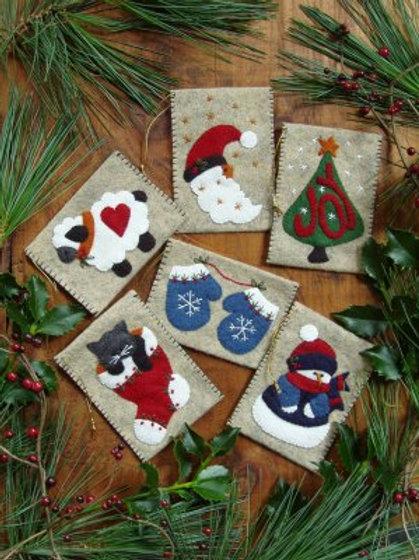 ROG1009 - Gift Bag Ornaments - KIT