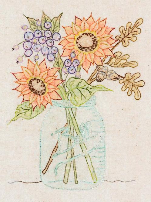 CAH351 - Sunflower Jar