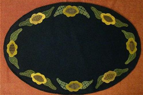 PRI 193 Simple Sunflower Table Mat