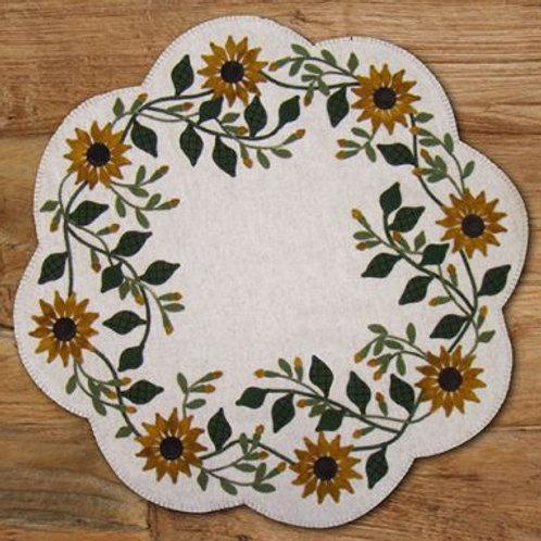 PRI 445 Vintage Sunflower Table Mat