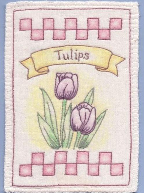 CK SP12 Heirloom Tulips Ornament