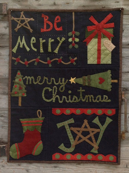 WSD1308 - Be Merry Quilt
