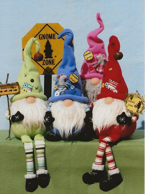 HHF493 - Roly Poly Sitting Gnomes