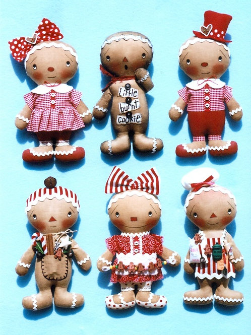 HHF362 - Gingerbread Cookie Kids