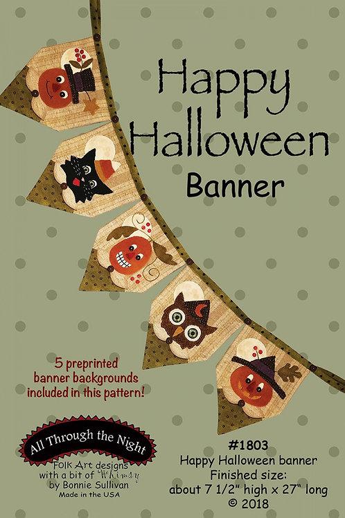 ATN1803 - Happy Halloween Banner