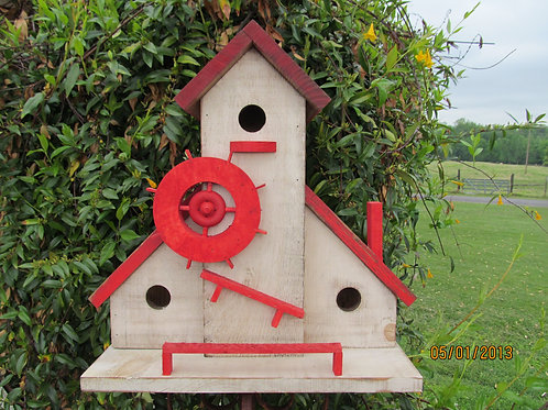 WC906 -  Gristmill Birdhouse - 2
