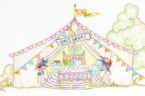CAH2555 - Girls' Getaway #3 Girl's Week Tent