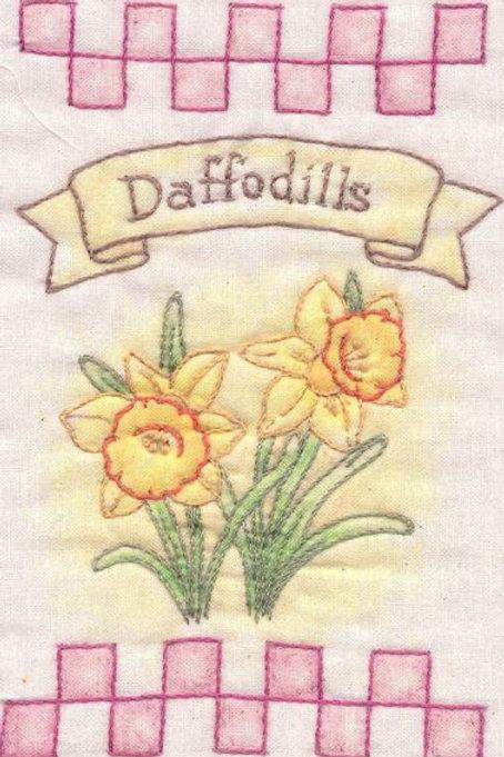 CK SP20 Heirloom Daffodils Ornaments