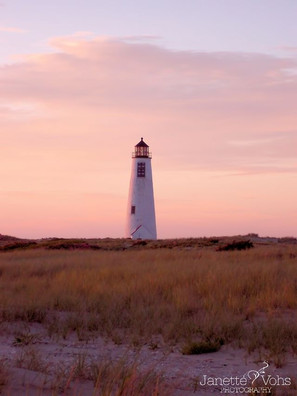#0134 - Pink Sunset at Great Point