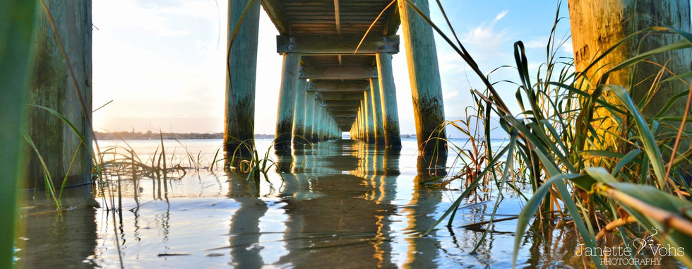 #0123 - Under the Pier Panoramic