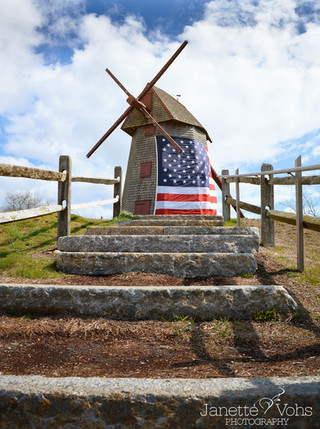 Flag at the Old Mill