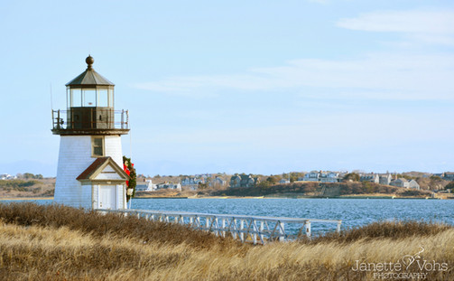 Holiday Wreath at Brant Point