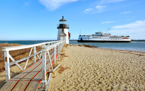 Steamship at Brant Point