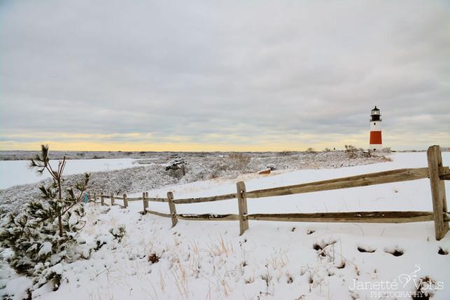 Winter Scene at Sankaty