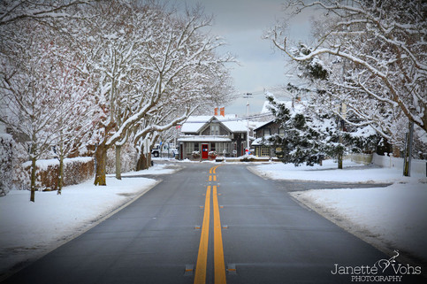 Winter Road to Sconset