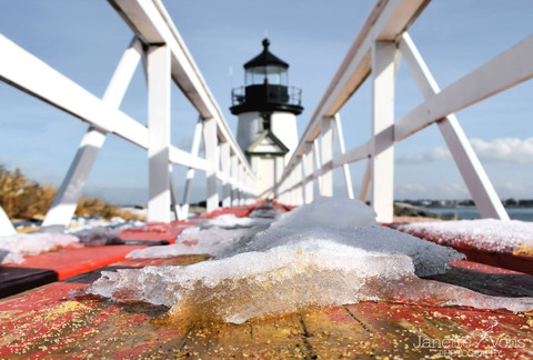 #0353 - Brant Point in the Winter