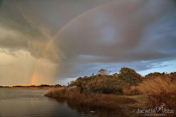 #0198 - Rainbow Over Long Pond