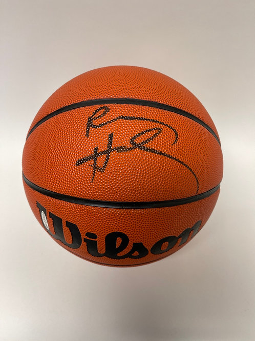 Penny Hardaway Autographed Basketball