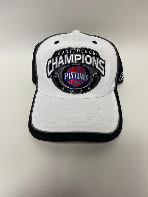 Detroit Pistons 2005 Conference Champions Hat