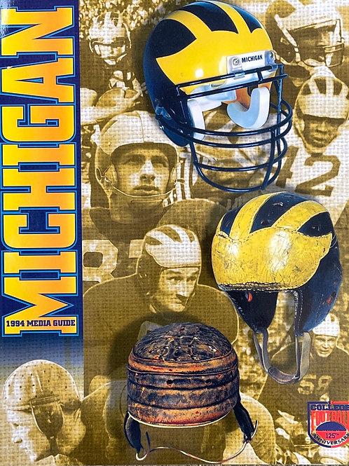 1994 University of Michigan Football Media Guide