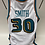 Kenny Smith Game Worn Pistons Jersey