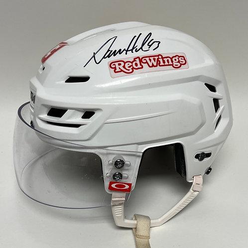 Darren Helm Autographed Game - Worn Helmet