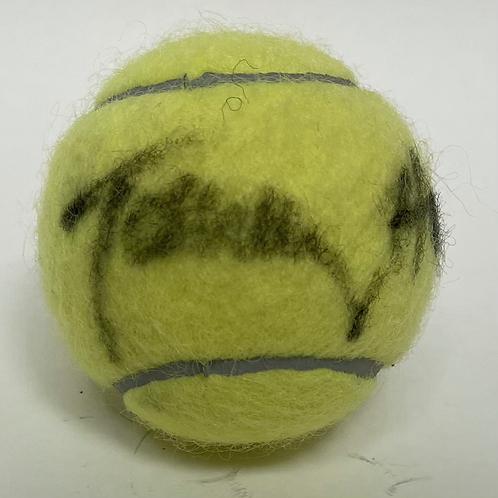 Tommy Haas Autographed Tennis Ball