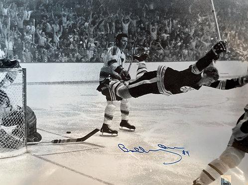 "Bobby Orr ""The Goal"" Photograph Autographed"