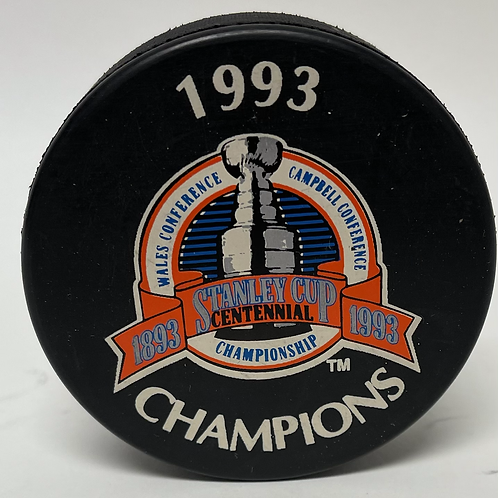 Montreal Canadiens 1993 Champ Centennial Puck