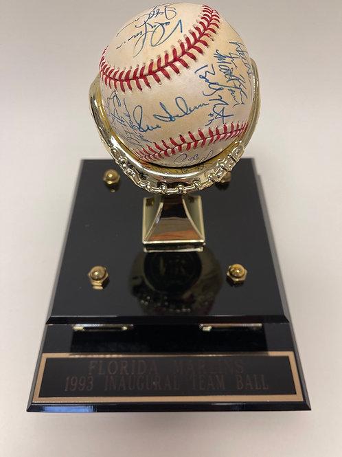 1993 Florida Marlins  Inaugural Team Ball