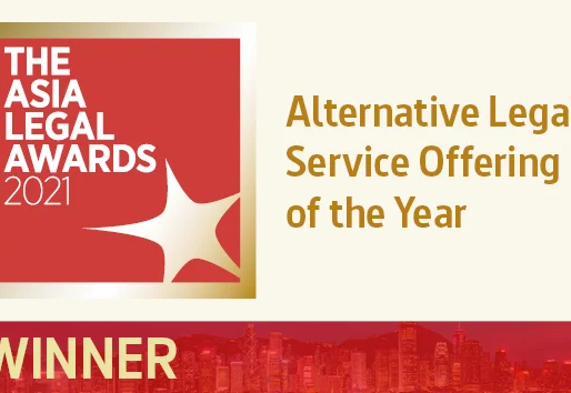 Korum Legal Win 'Asia Alternative Legal Service Offering Of The Year' At The Asia Legal Awards 2021.
