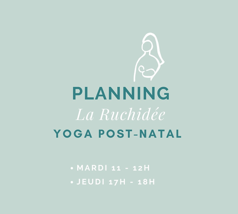 yoga post-natal limoges