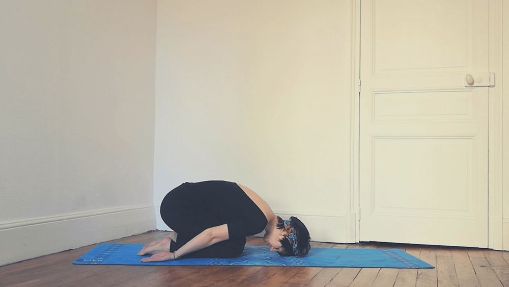 Yoga avec Pauline- Posture immunité_Balasana