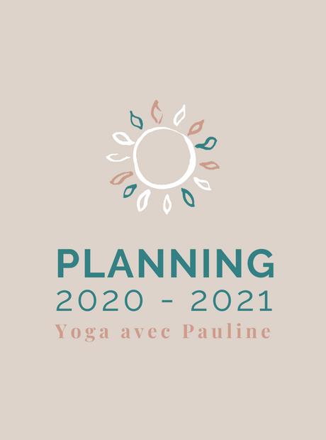 Cours de yoga 2020/2021: planning & inscriptions