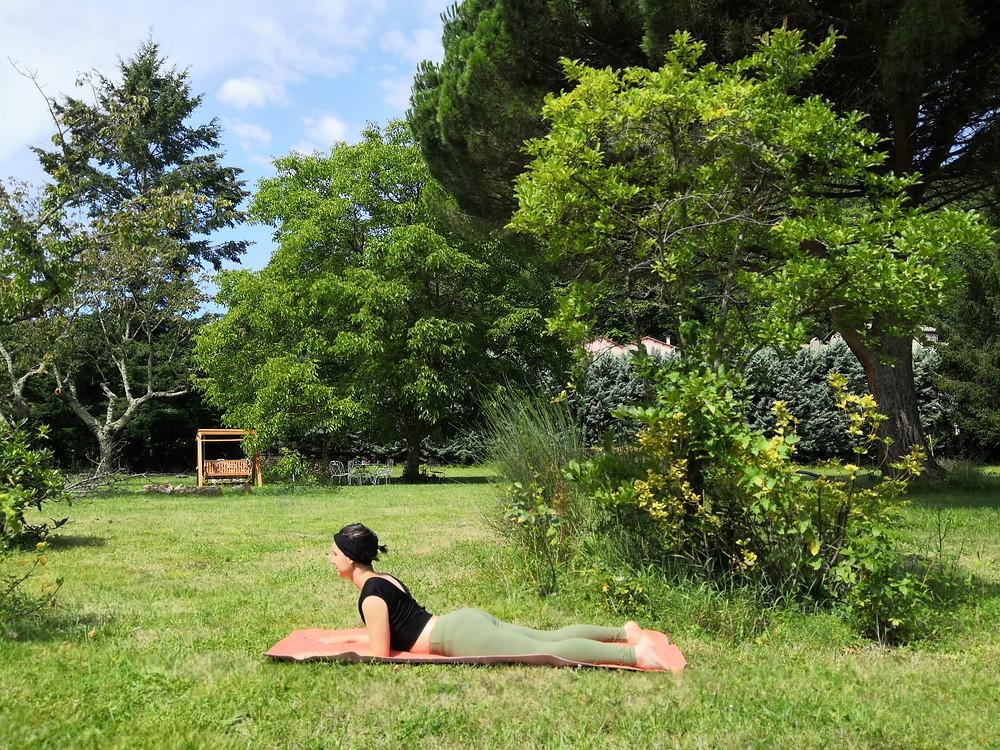 Sphinx - yoga avec pauline limoges