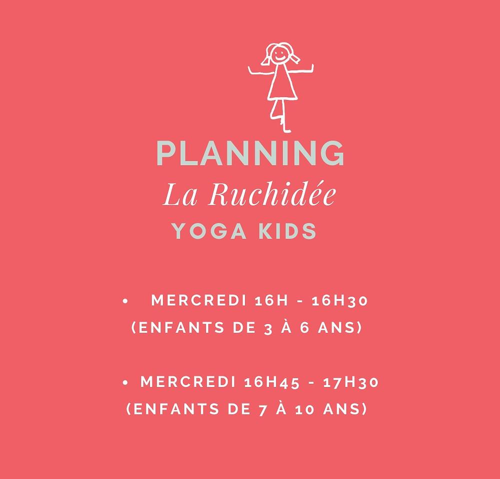 cours yoga enfants limoges