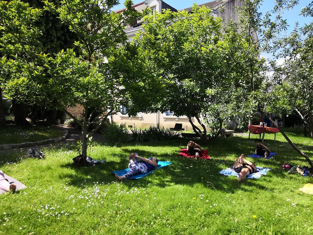 cours yoga plein air limoges