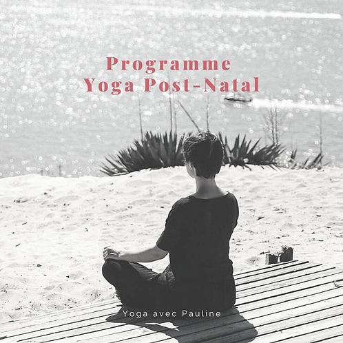 Programme Yoga-Post-Natal
