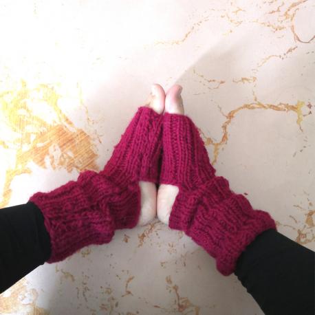 [ DIY ] Tuto pour tricoter vos chaussettes de yoga