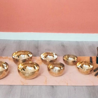 Set de bols tibétains