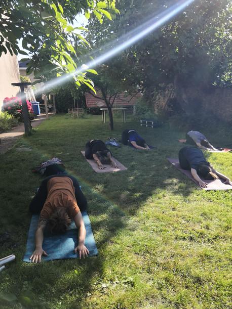 29 juin au 5 juillet : planning des cours de yoga en plein air à Limoges et en ligne