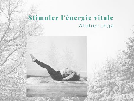 AGENDA | Atelier en ligne 1h30 - Stimuler l'énergie vitale pour faire face à l'hiver