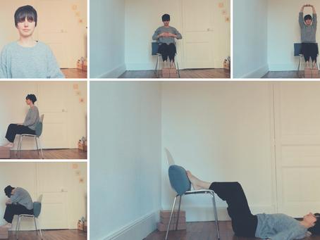 Postures de yoga pour le télétravail 👩💻 (soulager la nuque et le haut du dos)