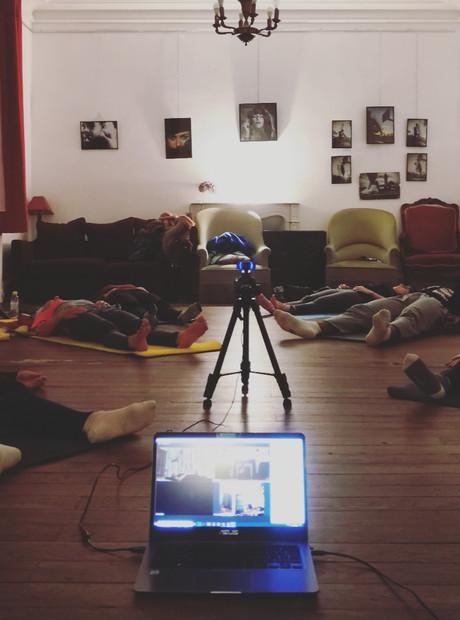 Nouveaux créneaux de cours de yoga en ligne 💻