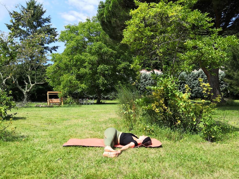 yoga pendant l'été - yoga avec pauline limoges