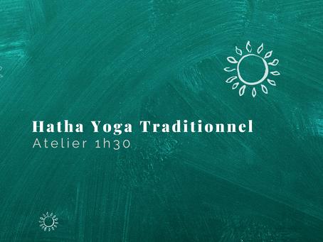 [ AGENDA ] Atelier en ligne : 1h30 de Hatha Yoga Traditionnel