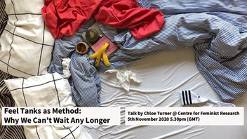 -LECTURE-  Feel Tanks as Method: Why We Can't Wait Any Longer (5 November 2020)