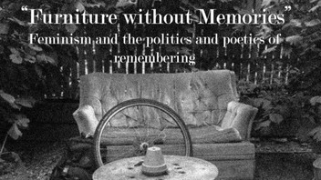 -EXHIBITION CURATOR- Furniture without Memories (27 February - 10 March 2017)